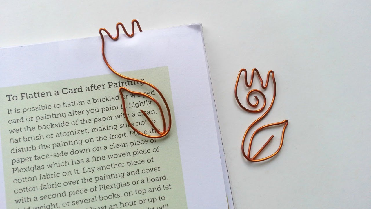 How To Create a Cute Wire Tulip Bookmark - DIY Crafts Tutorial ...