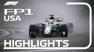 2018 United States Grand Prix: FP1 Highlights