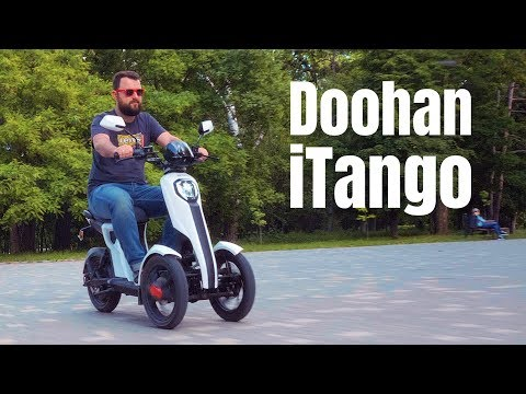 Doohan ITango - Трехколесный электроскутер!