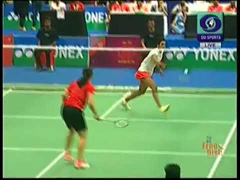 Saina nehwal Vs PV sindhu women's final 2018