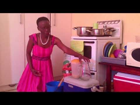 Namibia Traditional Drink: Oshikudu