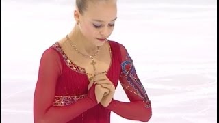2016 ISU Junior Grand Prix Final - Marseille - Ladies Free - Anastasiia GUBANOVA RUS