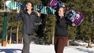 Following Wasatch Magazine: Learning to Snowboard