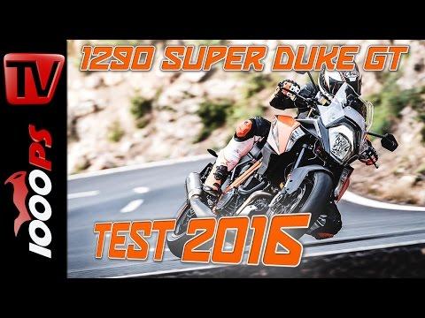KTM 1290 Super Duke GT Test 2016 | Fazit, Action, Fahreindruck (English Subs)