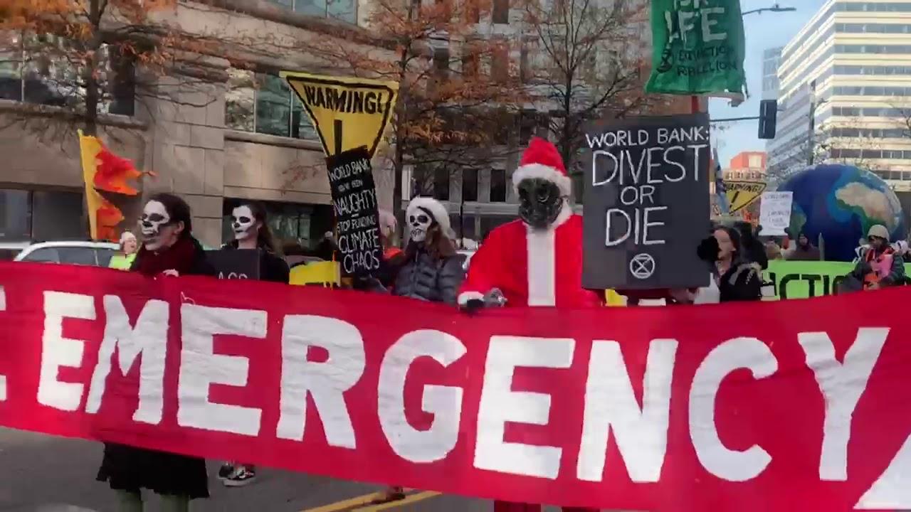 Climate Activists Block DC Traffic To Prevent Extinction - DC Shorts