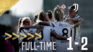 Fiorentina - Juventus Women 1-2 Serie A Femminile
