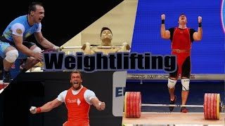 Olympic weightlifting Motivation - Lift the World