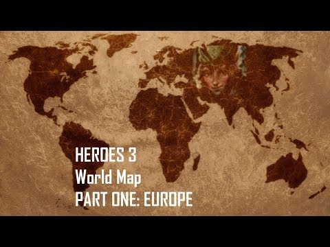 Heroes 3 - Real World Map (200%) PART ONE: EUROPE