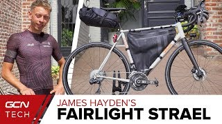 James Hayden's Transcontinental Fairlight Strael Bikepacking Setup