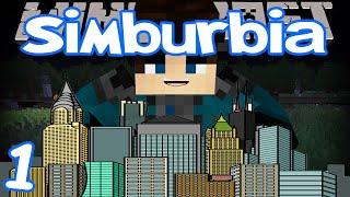 Minecraft - Simburbia   Ep 1   Sim City In Minecraft!