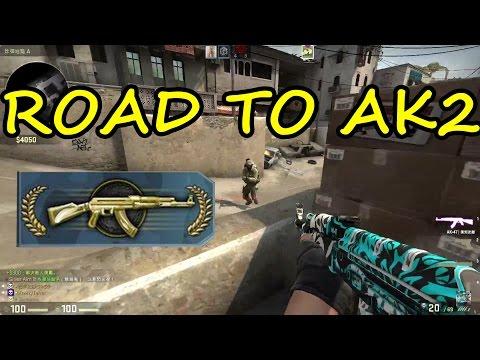 [香港] CS:GO Silver Aim (Road to AK2) | 1v3 Clutch?