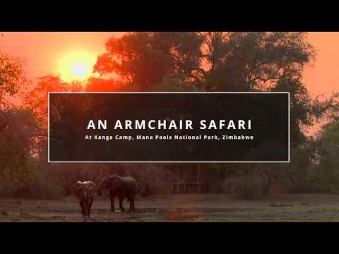 An Armchair Safari at Kanga Camp, Mana Pools National Park, Zimbawbe