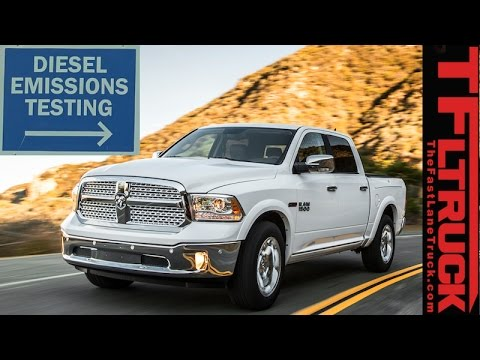 We Emissions Test the Ram 1500 EcoDiesel You Can't Buy Because its Under  EPA Investigation