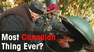 Winter Bbq, Canadian-style