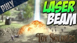ARCHIMEDES LASER BEAM - German Campaign (Toy Soldiers Gameplay #7)