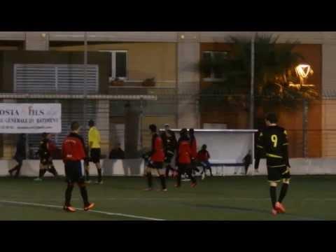 Match de championnat U15 pré-excellence US Cap d'Ail / Cavigal Nice - 8 février 2014