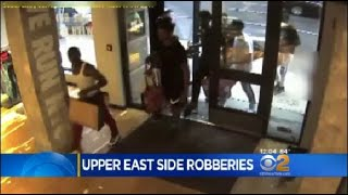 NYPD: Group Wanted For Stealing Athletic Gear From Upper East Side Stores