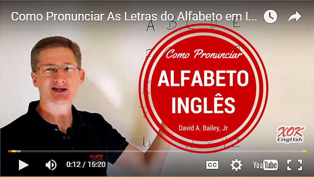 Armario Odontologico Com Pia ~ Como Pronunciar As Letras do Alfabeto em Ingl u00eas com Exercícios de Ingl u00eas YouTube