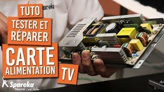Comment réparer la carte d'alimentation de votre télévision THOMSON ?