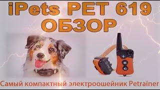 Полный обзор электронного ошейника iPets PET 619 | Amazin.su