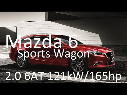 Mazda 6 Sport Wagon 2.0 121kW/165HP GJ1 instant fuel consumption