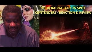 Thor Ragnarok Contenders TV Spot Reaction & Review