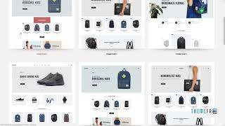 Sophie - Responsive Clothing, Shoes, Watches, Furniture, Fashion, Ele