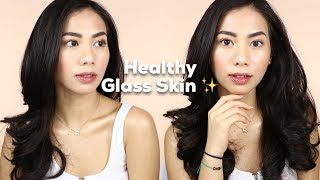 Natural Healthy Dewy / Glass Skin Makeup Look