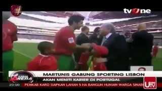 WOW Martunis Resmi Gabung Tim Sporting Lisbon Portugal Anak Angkat C Ronaldo korban Tsunami Aceh