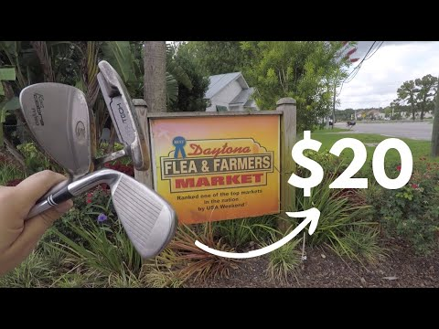 $20 FLEA MARKET GOLF CHALLENGE (LOSER EATS WHAT??)