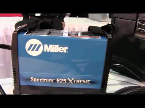 Miller Spectrum 625 >> Spectrum 625 X-TREME plasma cutter from Miller Electric Manufacturing Co. ID12076 - YouTube