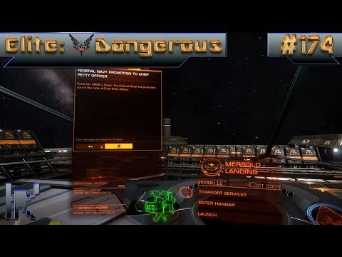 Let's Play Elite: Dangerous - Episode 174: Getting Promoted To Chief Petty Officer!