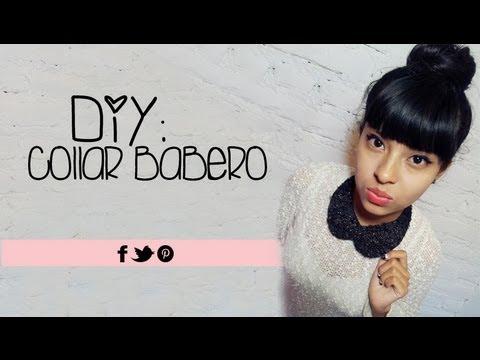 DIY: Collar Babero | Peter Pan Collar Necklace | Akari Beauty