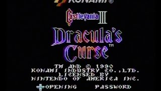 Castlevania III: Dracula's Curse (NES) AVGN episode segment