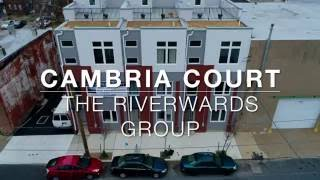 An Artful Flyover of Cambria Court
