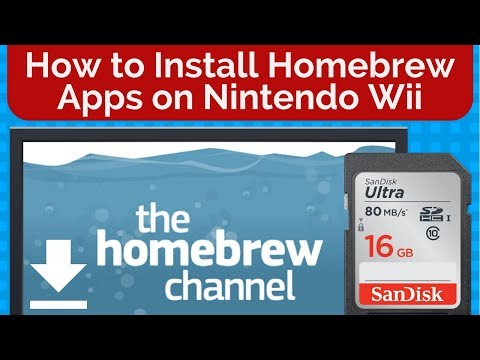 How To Install Homebrew Apps On Nintendo Wii