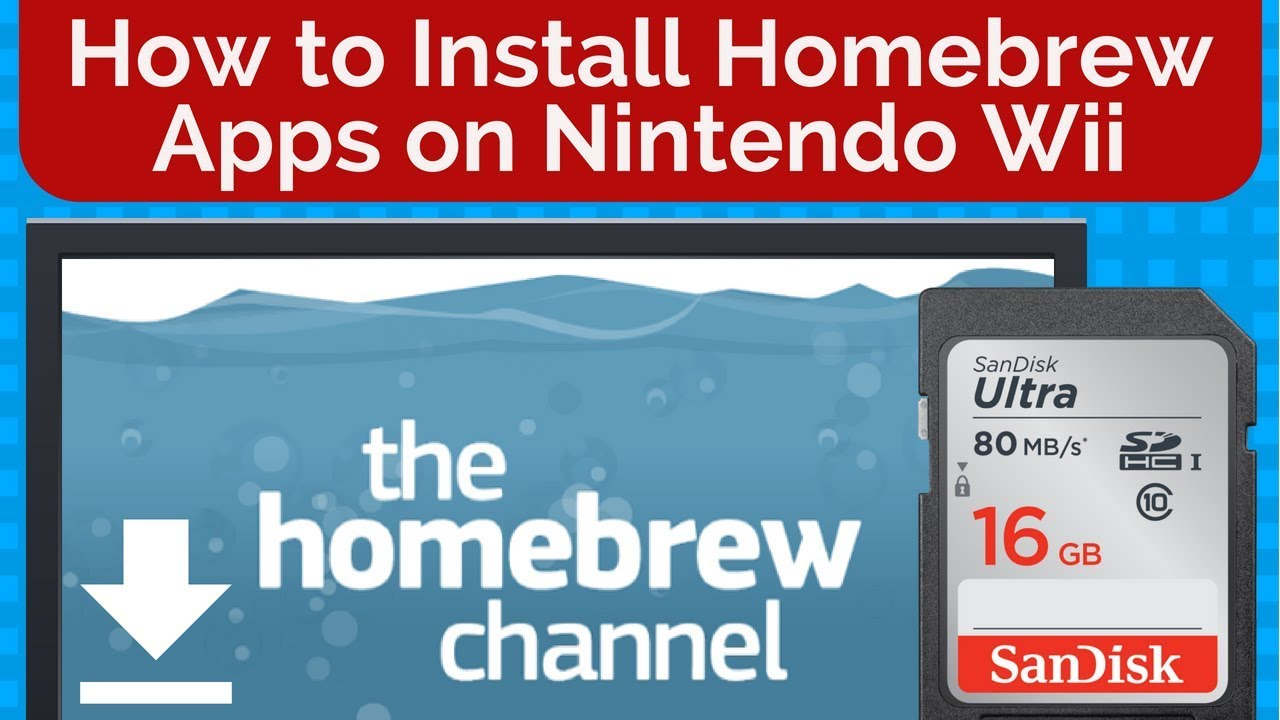 how to install apps wii homebrew channel