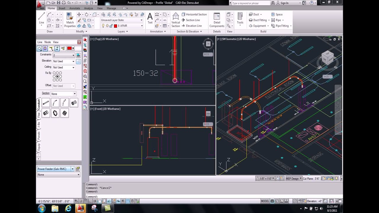 cadelec bim for electrical designers and contractors