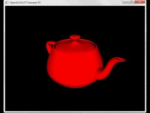 ObjectScript OpenGL Example Kettle