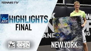 Highlights: Anderson Beats Querrey In New York Open Final 2018