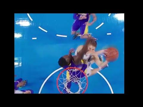(NBA) Maxi Kleber Dunks All Over Julius Randle!! / Lakers vs Mavericks