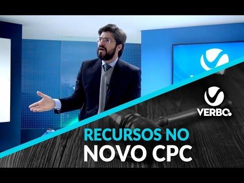 RECURSOS NO NOVO CPC - Com Daniel Assumpção   VERBO JURIDICO