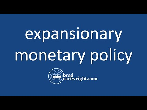 Monertary Policy Unit:  Expansionary Monetary Policy