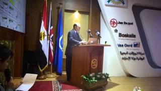 : الفريق مميش لوزير الدولة البريطانى قناة السويس الجديدة بأموال وعمال مصريين