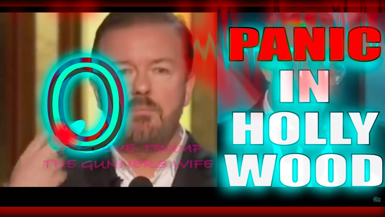 Ricky Gervais BLASTS HOLLYWOOD!! Tinsel Town MELTDOWN Golden Globe 2020 -They're Just Jokes Rig