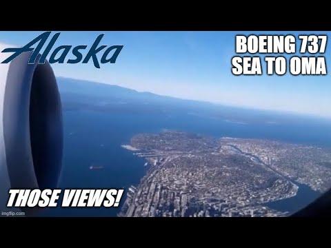 TRIP REPORT | Alaska | Seattle to Omaha | Economy #N283AK