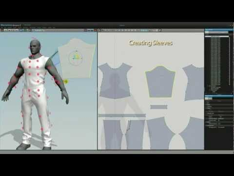 Game Character Clothing Design in Marvelous Designer - MD2 3D Modeling Tutorial | CGriver.com