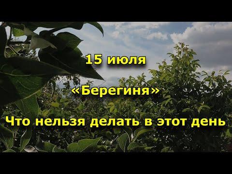 Народный праздник «Берегиня». 15 июля. Что нельзя делать
