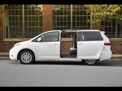 2016 Toyota Sienna review from Family Wheels