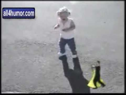 Little girl scared of her own shadow youtube